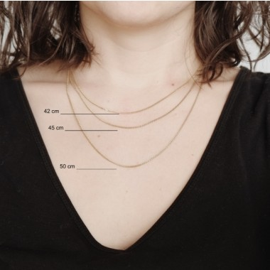 BRASSCAKE // Half Circle Necklace