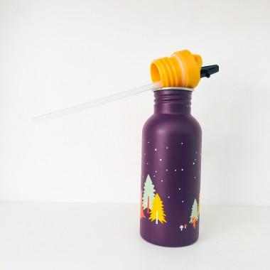 Roadtyping Kinder Edelstahlflasche Camping