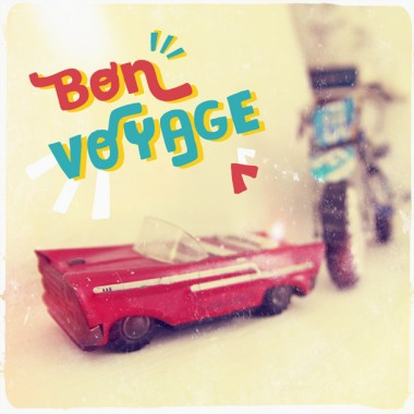 "JUNOgraphics Foto ""Bon voyage"", 20x20 cm"