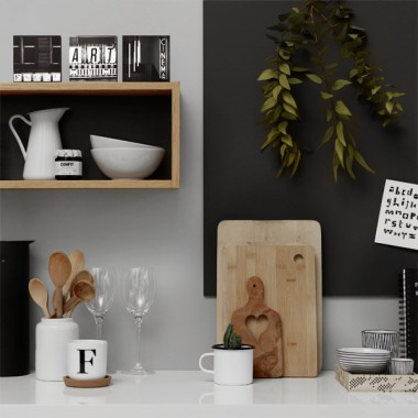 FrankfurterBubb ART Limited Edition  schwarz-weiß Foto-Kachel