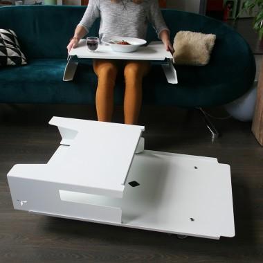 ally twintop Couchtisch // Laptoptisch // Tablett // weiß