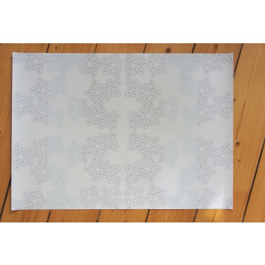 Ornament gift wrapping paper