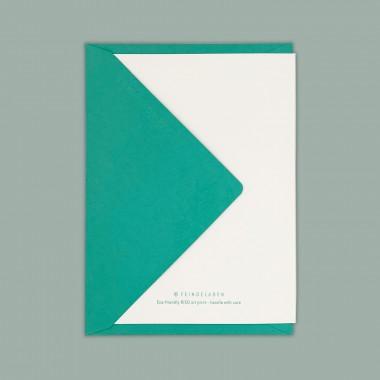 Feingeladen // LINE ART // Anchor (MI) // RISO-Klappkarte, A6