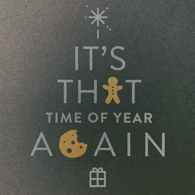 Feingeladen // TYPOGRAFICA // Time Of Year Again (Black Edition)