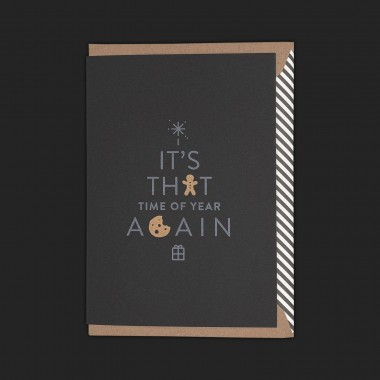 Typografica // Time Of Year Again (Black Edition)