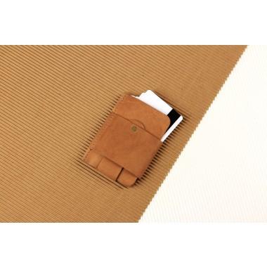 Gentleman Slim Wallet aus Vintage Leder - Vintage [V]