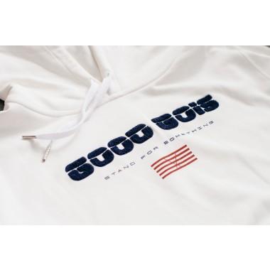 Goodbois Euro Flag Hoody off-white