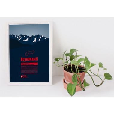 Gosaukamm - Bergdruck