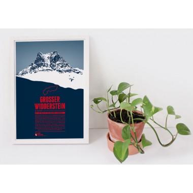 Grosser Widderstein - Bergdruck
