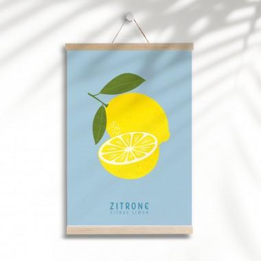 "Hey Urban Monkey - A4 Poster - ""Zitrone"""