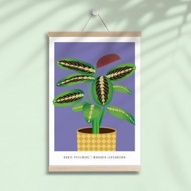 """Hey Urban Monkey - A4 Poster - """"Pfeilwurz"""""""