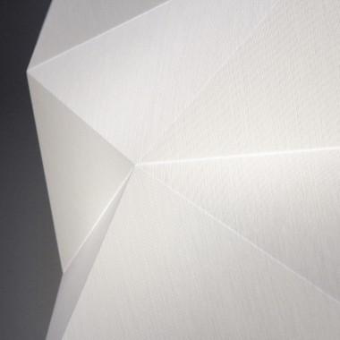 Nachtfalter Tischleuchte *Laterne* weiß – groß