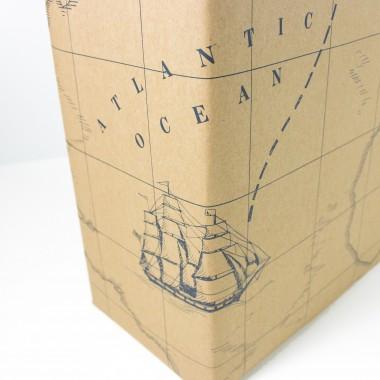 Geschenkpapier Schatzkarte