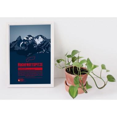 Hochfrottspitze - Bergdruck