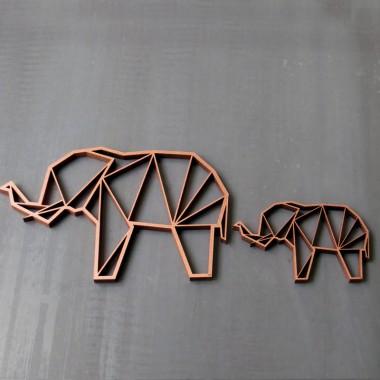 NOGALLERY Elefant klein Holz Motiv Deko
