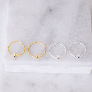 iloveblossom LET HER DANCE RING // IOLITH // gold