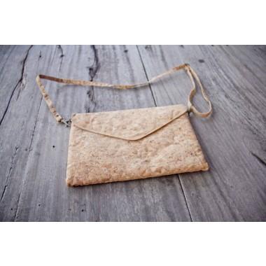 Praktische Kork Handtasche, vegane Clutch BY COPALA