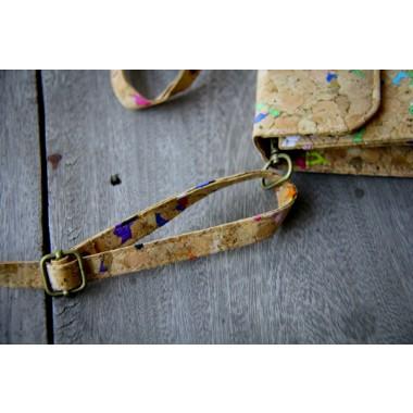 Handtasche, Clutch aus Kork