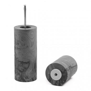 Gewürzmühle aus Pappel-Maser von Holzmanufaktur Matthias Reichel