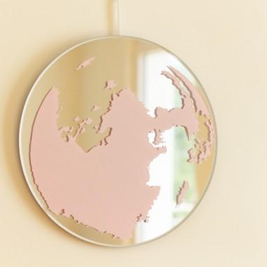 Mond-Spiegel rosa