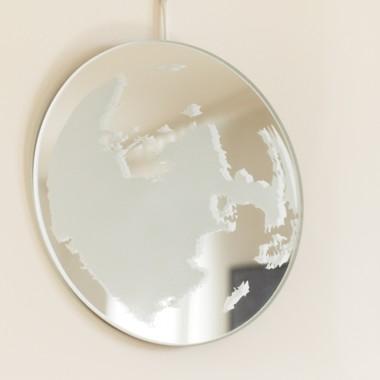 Mond-Spiegel - weiß
