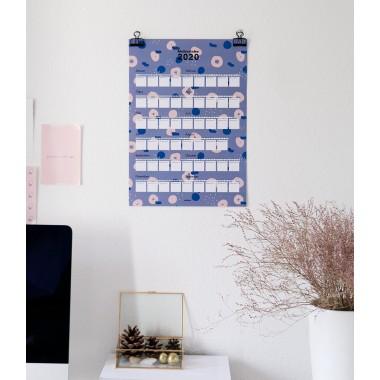 stahlpink – Poster-Kalender: Meilensteine 2020