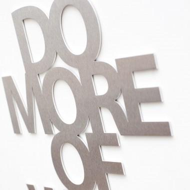 Do more of what makes you happy, Aluminium
