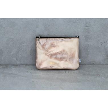 ElektroPulli Handgefertigte Geldbörse/Täschchen aus echtem Leder