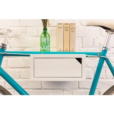 CLEMENS | Fahrrad Wandhalterung aus Holz | Fahrradwandhalter