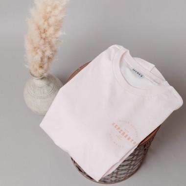 HYRES Unisex T-Shirt Esperanto / Candy Pink