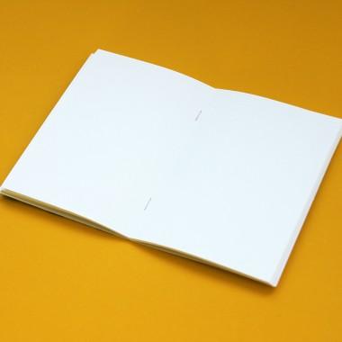 Edith schmuckes Papier Notizheft A6 mit Fadenbindung zur Einschulung