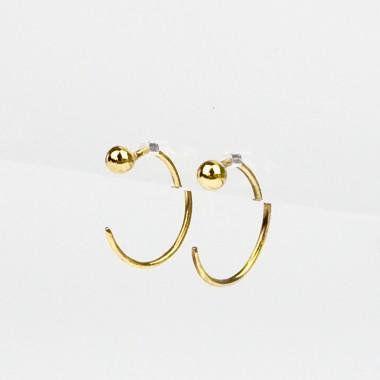 ST'ATOUR IRA – Ohrringe in Gold, Silber oder Roségold