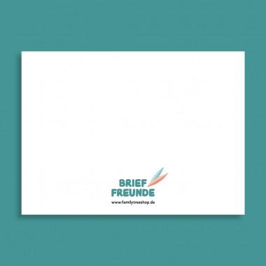 Family Tree Shop / 2er Postkarten-Set / Geburtstagspost