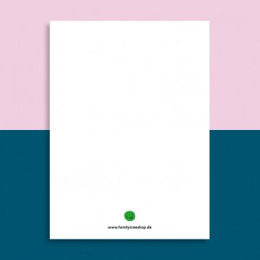 Family Tree Shop / Postkarte / Together