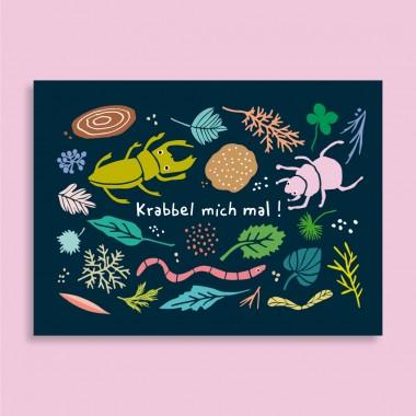 Family Tree Shop / Postkarten-Set / Herbst