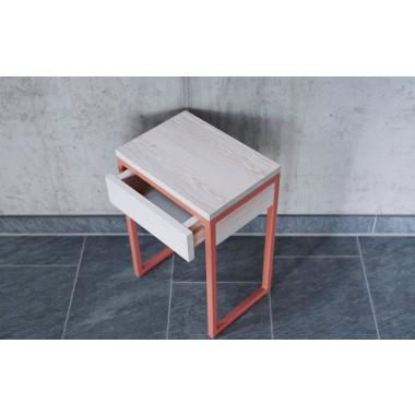 Nachttisch - Beistelltisch LUBERON mit Schublade