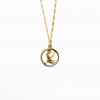 ST'ATOUR VIRGO // JUNGFRAU – Sternzeichenkette in Gold, SIlber oder Roségold