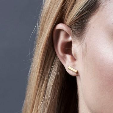 Jasmina Jovy Jewellery Hidden Faces Ohrringe EAHF02 gold plated