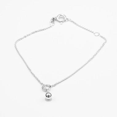 Jonathan Radetz Jewellery, Armband SPHERE, Länge 16/18cm, Silber 925