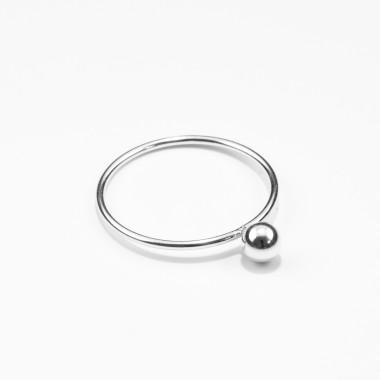 Jonathan Radetz Jewellery, Ring SPHERE, Silber 925