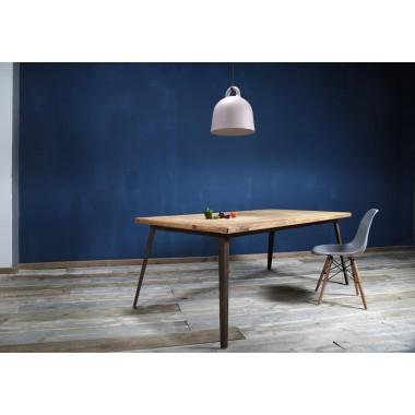 Esstisch aus Bauholz Krijn verrostet 200x100cm
