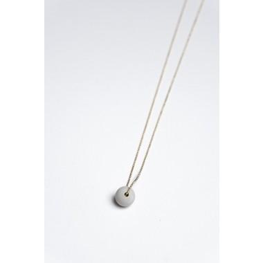 Klunkergrau Betonschmuck | Kleine Perle aus Beton