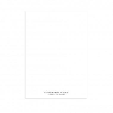 KLEINWAREN / VON LAUFENBERG Postkarte Stichel