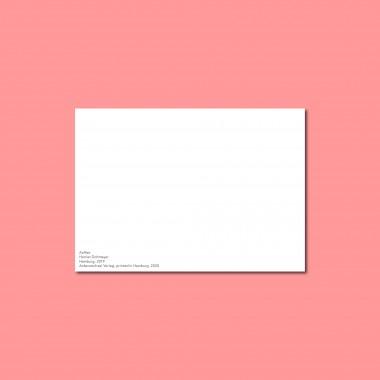'Kaffee' Postkarte, DIN A6, klimaneutral gedruckt / Ankerwechsel Verlag