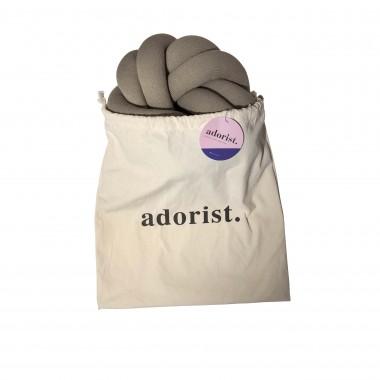 adorist. - Knotenkissen Blossom, stone