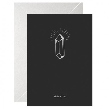 SHINE ON - A5 PRINT - LETTERPRESS