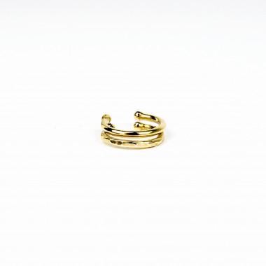 ST'ATOUR LANA BOLD –  Set aus 2 Ohrmanschetten / Fakepiercing in Gold, Silber oder Roségold