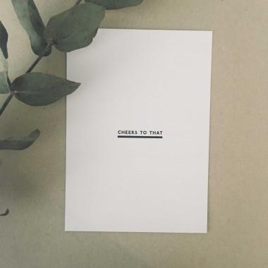 """Postkarten-Set """"Cheers"""""""