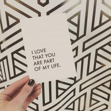 """Postkarten-Set """"Love"""""""