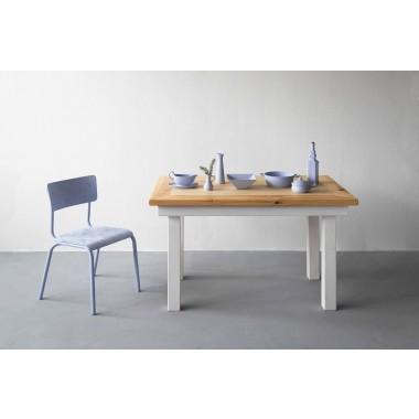 FraaiBerlin - Bauhholz Kiefer Tisch Jasmijn/Daan 130 x 80 cm